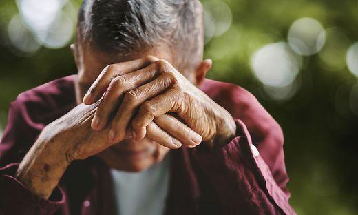 Depressive Erkrankungen äußern sich im höheren Lebensalter anders als davor