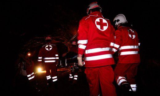 Die Verletzten von der Rettung in das LKH Villach eingeliefert