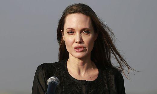 Angelina Jolie macht sich für andere Menschen stark