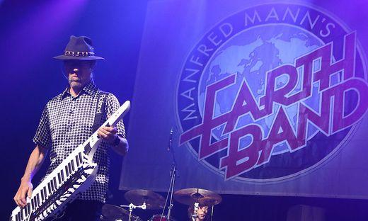 Manfred Mann und seine Earth Band lieferten knackige Rock-Reminiszenzen