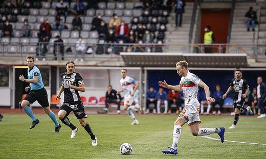 WAC gegen SK Sturm Graz Wolfsberg Mai 2021