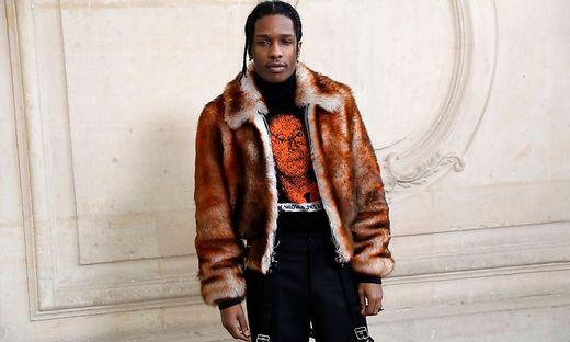Rapper ASAP Rocky