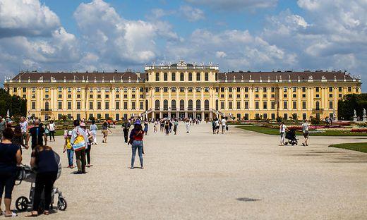 Schloss Schönbrunn künftig auf WeChat