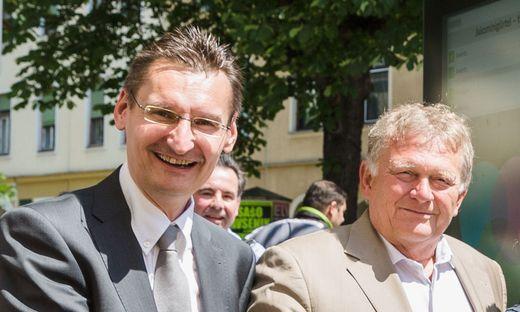 Gert Heigl und Wolfgang Malik
