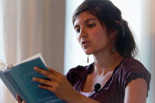 Die Schriftstellerin Shida Bazyar