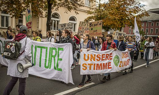 #FridaysforFuture in Klagenfurt