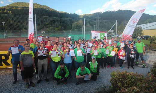 Gleich 50 Sportler aus der Steiermark, Oberösterreich und Niederösterreich nahmen teil