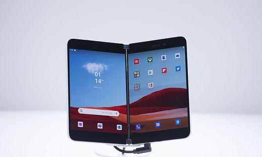 Das Microsoft Surface Duo soll erst 2020 auf den Markt kommen