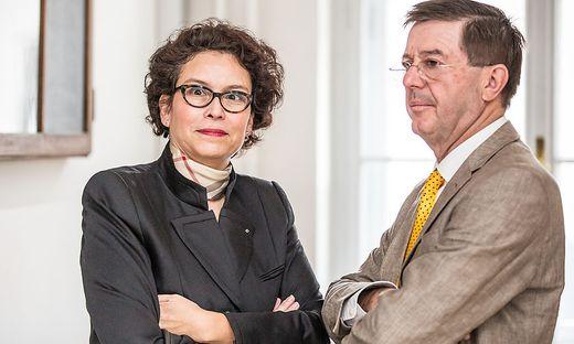 Ines Manegold und ihr Anwalt Kurt Klein