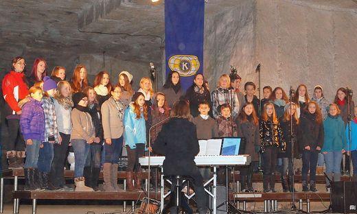 Fixpunkt im Benefizkalender des Kiwanis Klub Leibnitz: ein Konzert in der Römerhöhle