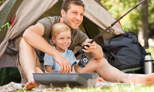 In den Sommermonaten entfallen rund ein Viertel der Nächtigungen auf die 91 Kärntner Campingplätze