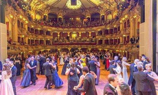Wird erst 2022 wieder stattfinden: Die Grazer Opernredoute
