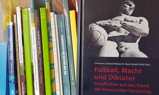 """Johannes Gießauf, Walter M. Iber und Harald Knoll, """"Fußball, Macht und Diktatur - Streiflichter auf den Stand der historischen Forschung, StdienVerlag, Graz 2014"""