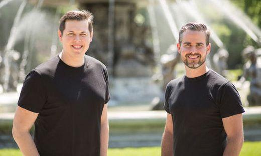 Probando-Gründer Manuel Leal Garcia und Matthias Ruhri