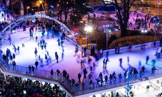 Aufstockung bescherte Wiener Eistraum Besucherrekord