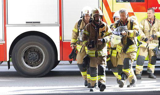 Sujet Feuerwehr Einsatz Feuer Brand