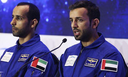 Sultan al-Neyadi und Hazza al-Mansoori