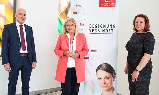 Bernhard Erler, Maria-Luise Mathiaschitz, Irene Huditsch