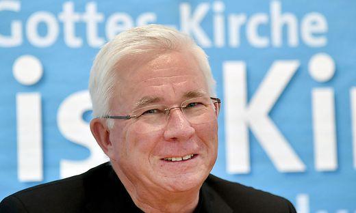 Franz Lackner hat  einem  23-jährigen Lehling gestern Kirchenasyl gewährt