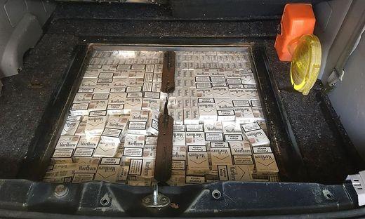 435 Stangen Zigaretten waren im Pkw versteckt