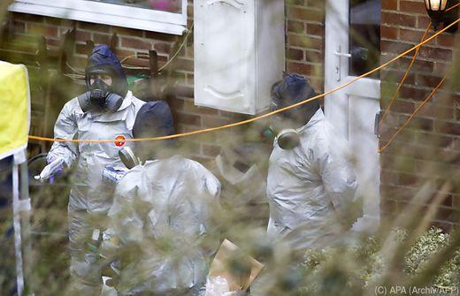 Ex-Spion an seiner Haustür mit Nervengift in Berührung gekommen
