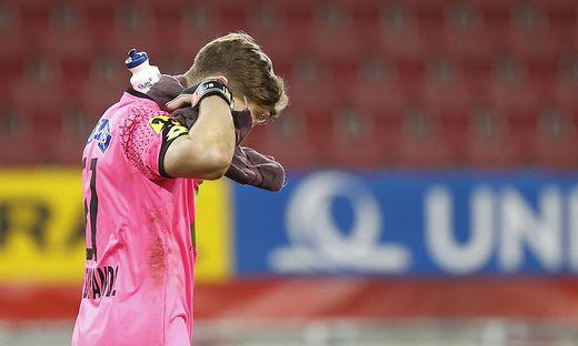 FUSSBALL: UNIQA OeFB CUP / HALBFINALE / SK PUNTIGAMER STURM GRAZ - FC RED BULL SALZBURG