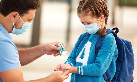 Kind; Desinfektionsmittel