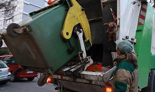 Grazer Mülltonnen werden wie gewohnt entleert