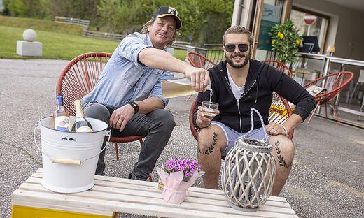 Cafe Bistro Flaschenpost Herwig Stotter-Mischkulnig und Michael Geissler Maria Wörth Mai 2021
