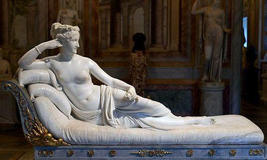 Paolina Bonaparte, hier noch mit intakten Zehen
