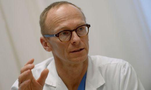 Infektiologe Christoph Wenisch