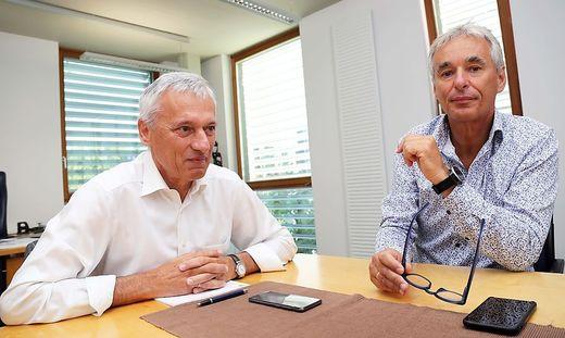 PV Invest-Gründer Günter Grabner, Gerhard Rabensteiner