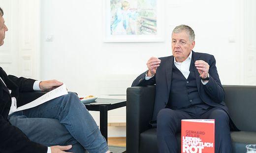 Gerhard Zeiler in der Wiener Redaktion der Kleinen Zeitungby akos burg interivew
