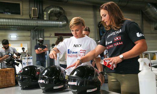 Nicole Schmidhofer und Ramona Siebenhofer