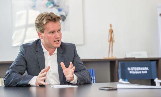 """Georg Knill: Eine Abgabe auf CO2- Emission müsste """"zweckgewidmet"""" sein"""