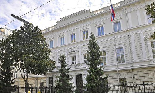 Die russische Botschaft in Wien