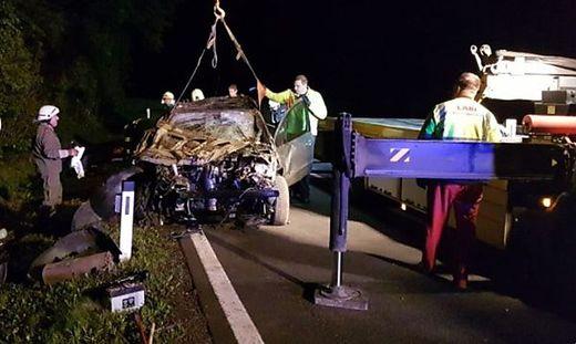 Unfall auf der L401