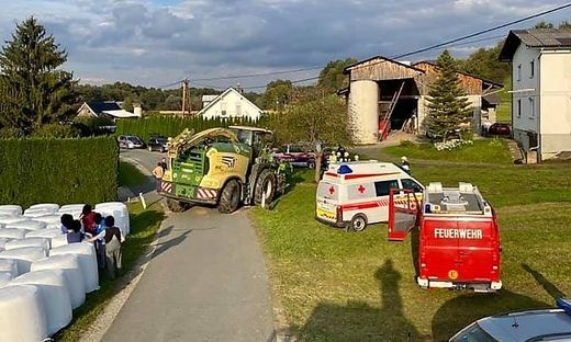 Schwerer Unfall in Wettmannstätten