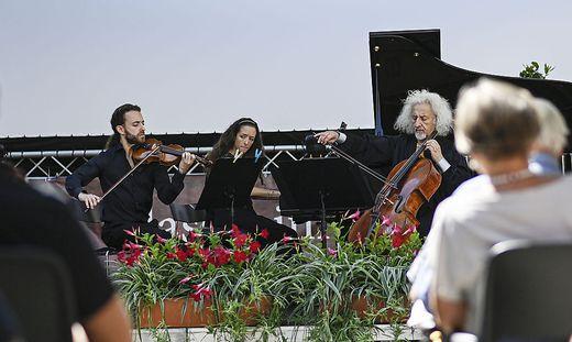 Das Maisky-Trio in Klagenfurt
