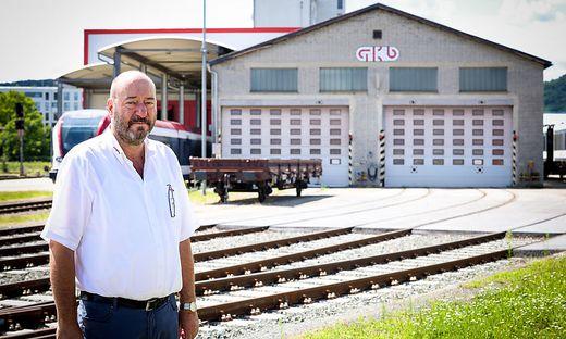 GKB-Betriebsrat Helmut Koch