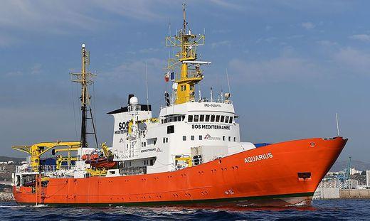 """Rettungsschiff """"Aquarius"""""""