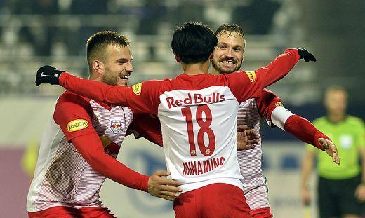 FUSSBALL TIPICO BUNDESLIGA / GRUNDDURCHGANG: FK AUSTRIA WIEN - RED BULL SALZBURG
