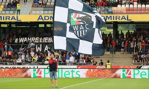 WAC-Fans können ihren Verein kostenlos begleiten