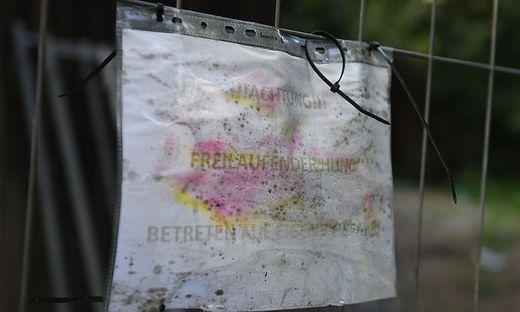 Auf einem Anwesen im Lavanttal wurden die toten Hunde gefunden
