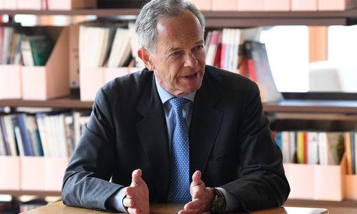 Andreas Treichl, Doyen der österreichischen Finanzwelt und neuer Präsident des Europäischen Forum Alpbach