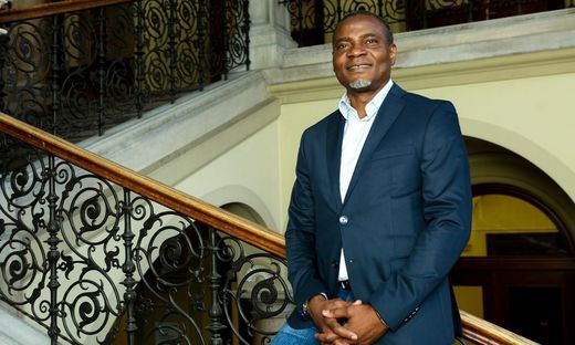 Godswill Eyawo, Geschäftsführer des Migrantenbeirats