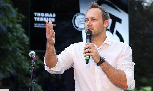 Sturm-Geschäftsführer Thomas Tebbich