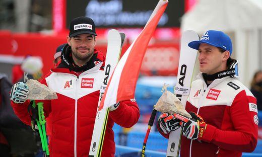 Doppelsieg für Matthias Mayer und Vincent Kriechmayr