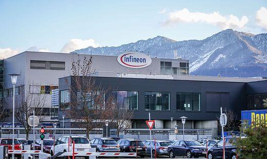 Die Zentrale von Infineon Österreich in Villach