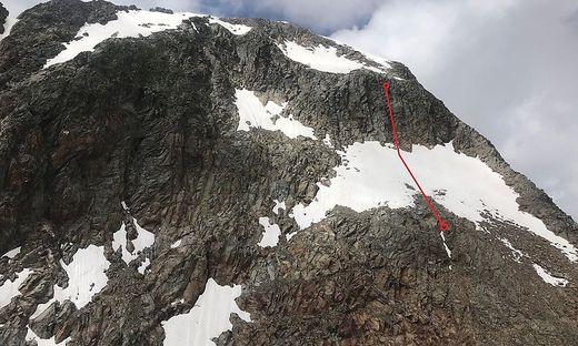 Beim Versuch ein Schneefeld zu umgehen, stürzte am Samstag in der Schobergruppe eine Alpinistin in den Tod